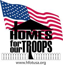 Va Flag Tma Sponsors Homes For Our Troops Hfot In Nokesville Va