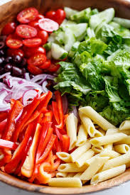 Best Pasta Salad Recipe by Lemon Herb Mediterranean Pasta Salad Cafe Delites