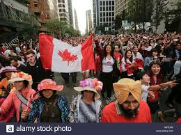 vancouver canada 1st july 2016 attend the canada day