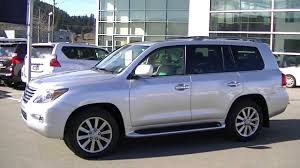 lexus lx us news 2009 lexus lx 570 video 001 youtube