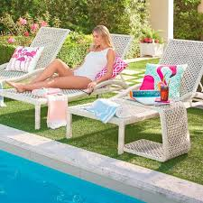 Grandin Road Outdoor Furniture by Sanibel Chaise Lounge Chair Grandin Road