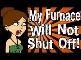 furnace fan wont shut off my furnace will not shut off youtube