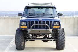 prerunner jeep cavfab jeep xj mj stubby bumper