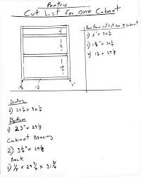 kitchen cabinet diagram build kitchen cabinets install drawer slides free design plans