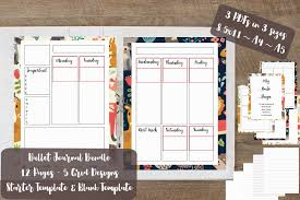 bullet journal pdf printable bujo grid dot printable bujo zoom
