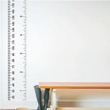 wall decoration growth chart wall sticker lovely home