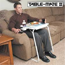 table mate tv tray table mate ii 2 portable adjustable dinner laptop tray with cup