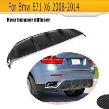 online get cheap carbon fiber rear diffuser for bmw x6 aliexpress