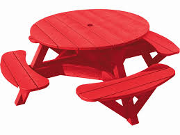 round plastic picnic table round outdoor picnic tables fresh small round red recycled plastic