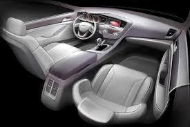 2011 Kia Optima Interior 2011 Kia Optima U0027s Interior Sketchily Teased