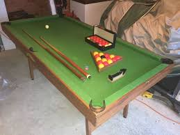 6 foot pool table snooker table with balls u0026 cues in evesham