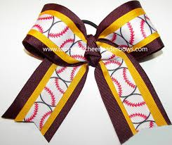 softball hair bows bulk softball bow maroon gold softball bow softball maroon