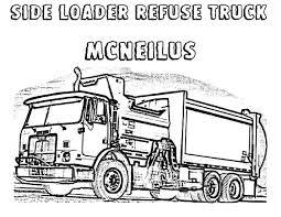 side loader garbage truck coloring pages download u0026 print online