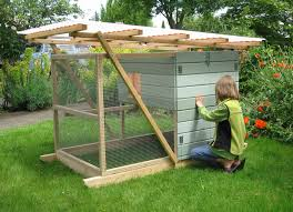 How To Build A Rabbit Hutch And Run Chicken Coop Plans And Kits Thegardencoop Com