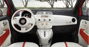 Fiat 500 Interior Fiat 500e Interior Inside Evs