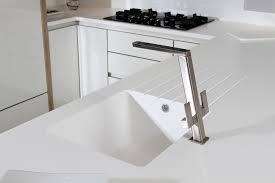 Photos Of Kitchen Sinks Kitchen Design Idea Seamless Kitchen Sinks Integrated Into The