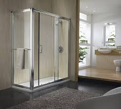 Shower Doors 1000mm by Hydr8 Sliding Shower Door 1000mm