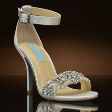 betsey johnson blue wedding shoes by betsey johnson at my glass slipper