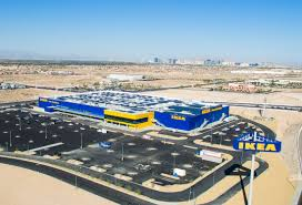 Ikea Use Solar Installation Complete Atop Future Ikea Las Vegas Will Be