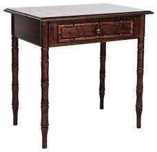 Cherry Wood Side Table Cherry Wood Side Table With Bamboo Legs 500 Est Retail 200