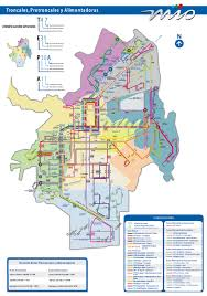 San Jose Bus Routes Map by Metro Cali The Bus System Of Cali Colombiainfo Org