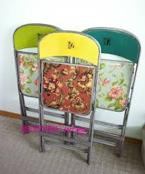 best 25 painted folding chairs ideas on pinterest metal folding