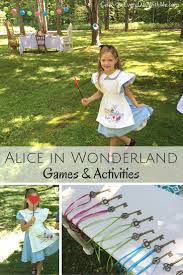 alice in wonderland party games activities u0026 more celebrate