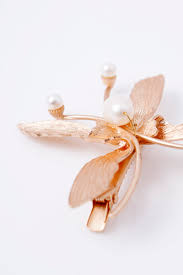 butterfly hair clip fortune cookie gold butterfly hair clip