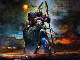 wallpapers david and goliath theswordbearer
