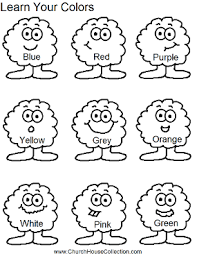 learn your colors worksheet for kids free printable for preschool