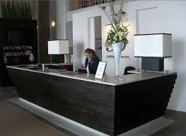 Gray Reception Desk Contemporary Reception Desk Black U2014 Contemporary Homescontemporary