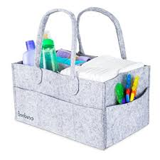 baby diaper caddy by bonbino luxury portable diaper storage