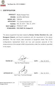 bureau tcl b005 mobile hotspot folio test report 2accjb005 rpt part 22 tcl