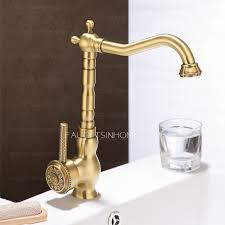 arrival rotate antique bronze kitchen sink faucets