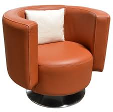 Orange Accent Chair Orange Accent Chair Chairs Amp Accent Chairs Vivaldi Leather