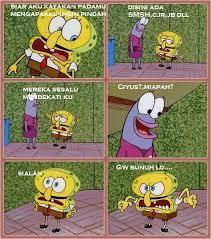 Meme Spongebob Indonesia - meme komik indonesia on twitter spongebob anti alay http t co