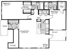 Garden Home Floor Plans by The Premier Garden Home Downstairs Waters Edge