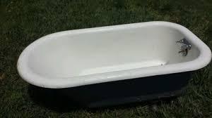 antique antique 4 1 2 foot claw foot cast iron bath tub