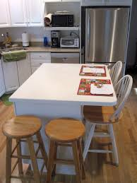 Eat On Kitchen Island by Nice Rectangle Shape Dark Brown Color Kitchen Island Features