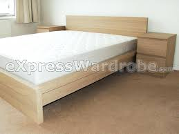 Malm Low Bed Frame Ikea Malm Bed With Nightstands Cingato