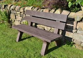 Commercial Grade Park Benches Bench Recycled Plastic Bench Polly Products Cambridge Commercial