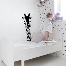 Animal Wall Decals For Nursery Baby Nursery Giraffe Wall Sticker Giraffe Wall Decal Animal Wall