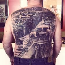 tattoo by joe johns awarded