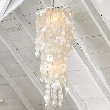 Mother Of Pearl Pendant Light by Roundup Capiz Craze Popsugar Home