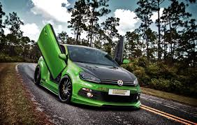 green volkswagen golf weitec volkswagen golf 6 gti picture 38047