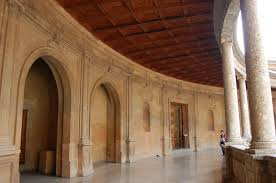 Palace Interior by The Alhambra Palace Of Charles V Low Bandwidth Edition
