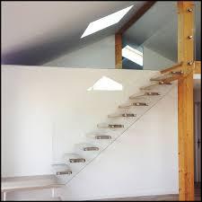 Frameless Glass Handrail Glass Stair Railing Laminated Glass Railing