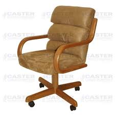 Microfiber Swivel Chair by Caster Chair Company Swivel Tilt Caster Arm Chair In Beige