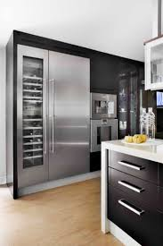 modern minimalist design interior kitchen house madrid