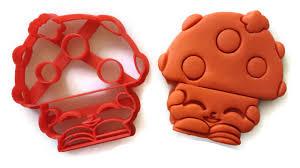 shopkins halloween background shopkins miss mushy moo cookie cutter fondant cutter things4thinkers